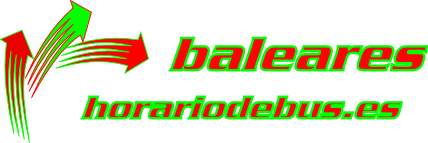 Online schedule for bus, train and boat connections in  Balearic Islands